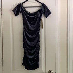 Nicole Miller velvet dress